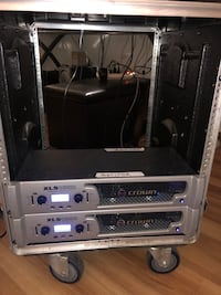 2 Crown xls1000 and case