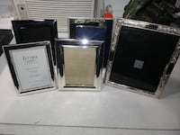 Silver picture frames