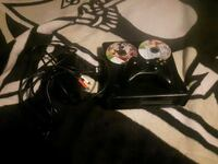 black Xbox 360 game console with controller Winnipeg, R3W 0A8
