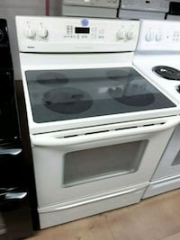 Kenmore beige electric stove