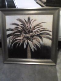 2 palm tree picture frames Las Vegas, 89122