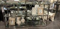 black metal framed glass display cabinet 沃恩, L4K 0A2