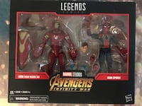 Marvel Legends Series Iron Man Mark 50 & Iron Spider Santa Ana, 92703