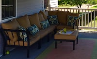 Outdoor sectional. New cushions. Decorative cushions not included.  West Grove, 19390