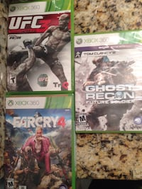 Xbox 360 Game Lot Video Game Electronics Xbox