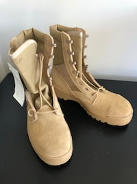 Military issued tan hot weather boots Essex, 21221
