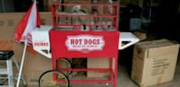 Nostalgia hot dog vending machine  Manassas