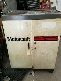 white and black motocraft tool cabinet White Haven, 18661