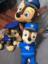 Paw patrol chase 3set Virginia Beach, 23464