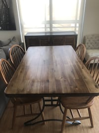 World Market Table, Chair, and Sideboard Hanover, 21076