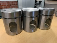 four stainless steel cooking pots Elk Grove, 95758