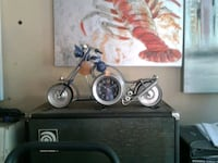 Barrel Shack METAL ART motorcycle clock  Burtonsville, 20866