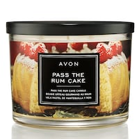 Pass the Rum Cake Holiday Candle Edmonton, T6L 6M7