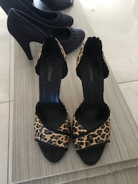 3 pairs of shoes ( size 10 /9.5) and large purse Montréal, H1E 4R1