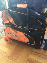 526bc79e3991 Used KR Strikeforce Double Roller Bowling Bag for sale in San Bruno ...