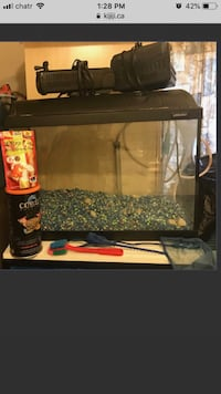 Large Fish Aquarium with Filters n lots of items  Mississauga, L4Z 3M5