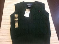 BRAND NEW: Size 4 Polo Ralph Lauren Sweater  Vest Fort Washington, 20744