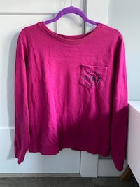 PINK sweater size small