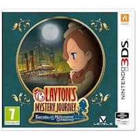 Layton's Mystery Journey Nintendo 3DS Game Vancouver, 98682