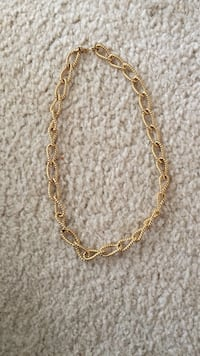 Money gold chain link necklace Virginia Beach, 23452