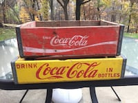 Red and black coca-cola signage, $15.00 or best offer Weirton, 26062
