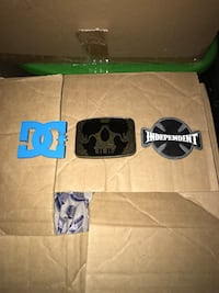 3 skate branded belt buckles  St Catharines, L2R