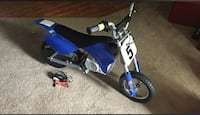 Blue and black electric dirt bike 15 mph Pineville, 28134