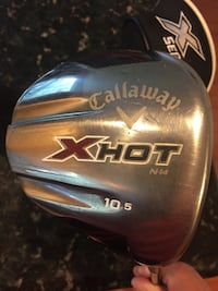 Callaway XHOT 10.5 Driver is Pre-owned and in good condition..