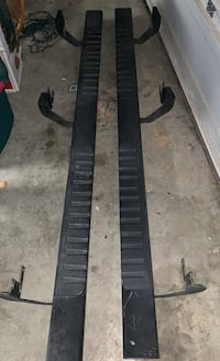 Step sides for crew cab pickup