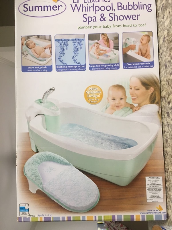 white Summer bather box