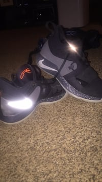 Pair of black-and-gray nike basketball shoes Barrie, L4M 3L2