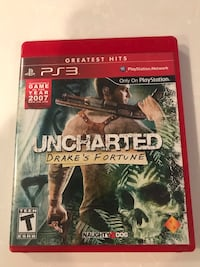 PS3 Uncharted- Drake's Fortune  Fairfax, 22032