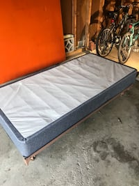 Twin bed frame and box spring  Ithaca, 14850