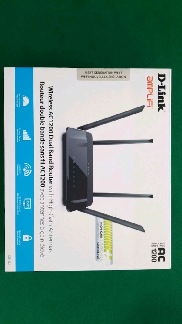 D'LINK Wireless AC1200 Dual Band Router