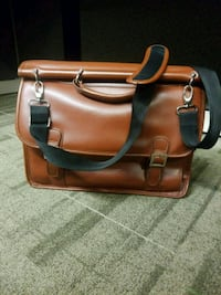Messenger Bag Faux leather Washington