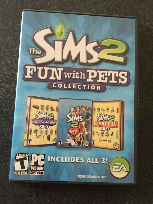 The Sims 2 Fun With Pets Pc Game HomeOther Utica