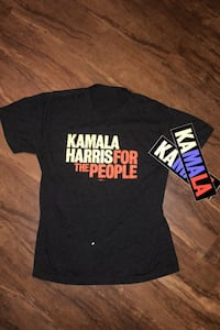 EXCLUSIVE: Kamala Harris T-Shirt + Stickers Alexandria, 22304
