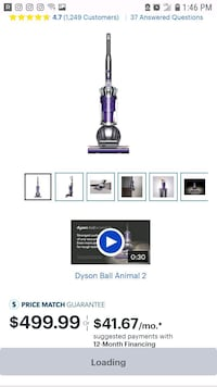 Dyson Ball Animal 2 Silver Spring, 20904