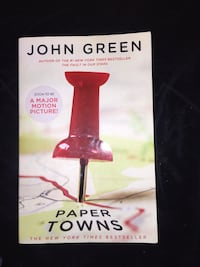 Paper towns paperback book  Bakersfield, 93306