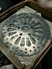 Front and back universal Harley rotors bran new in box chrome Las Vegas, 89102