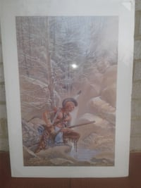 new painting poster from Blackwater State Park in Virginia Greenbelt