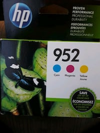 HP ink cartridge new! Cyan magenta and yellow pack Lancaster, 93535