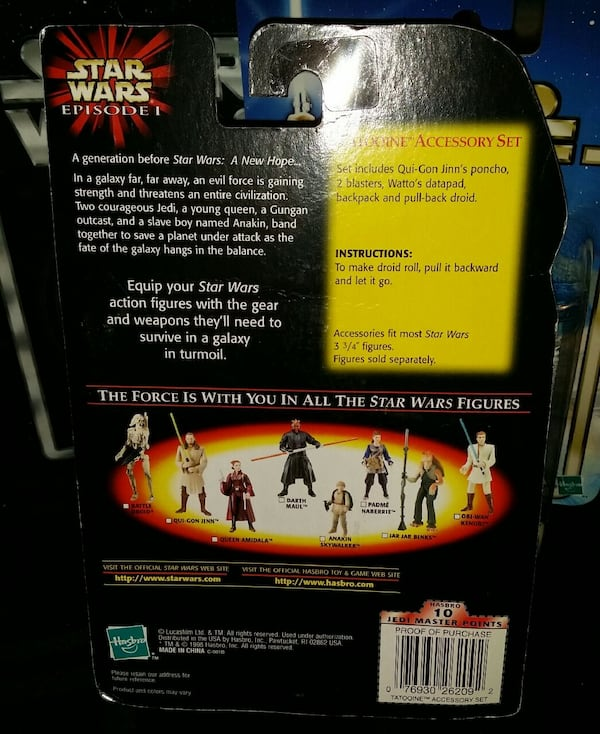 Star Wars Tatooine Accessory Set 1