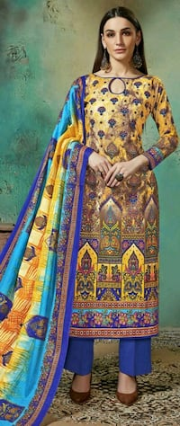 Cotton suit free (shipping all over India ) New Delhi, 110092