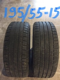 two black vehicle tire set Laval, H7G