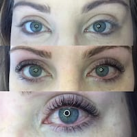 $40 eyelash lift and tint   Calgary, T2B 3P7