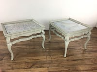Pair Of Distressed French Style End Tables (1015613) South San Francisco