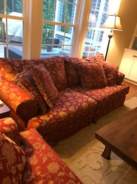 Used 80 Inch Floral Sofa For Sale In Graham Letgo