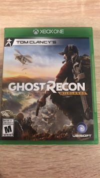 Ghost Recon Xbox One game case Calgary, T3G 4X8
