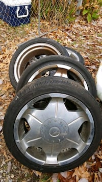 Rims and tires 18 by 8 Universal lug pattern that most cars and trucks Virginia Beach, 23452